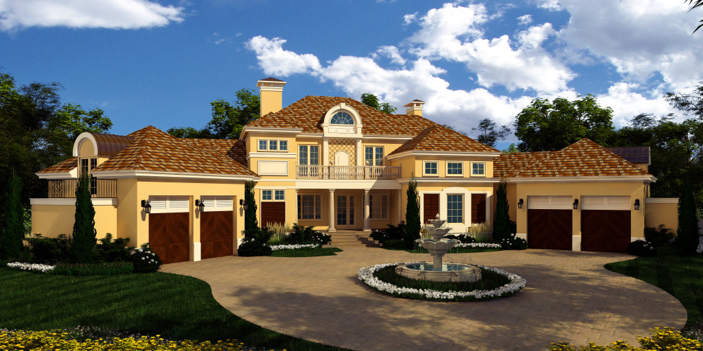 Rendering of custom home option for the Found Forest Lot at 200 Deer Colony Lane